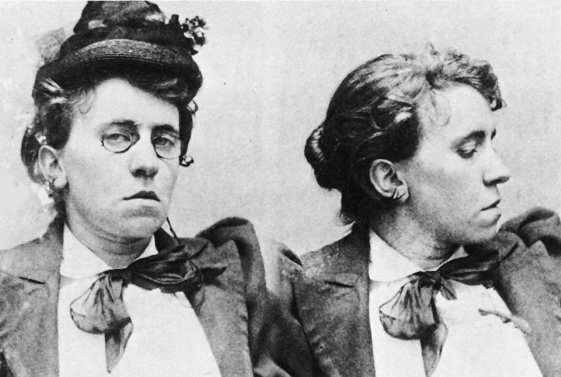 Emma Goldman – personagem retratada no filme de abertura de Abigail Child