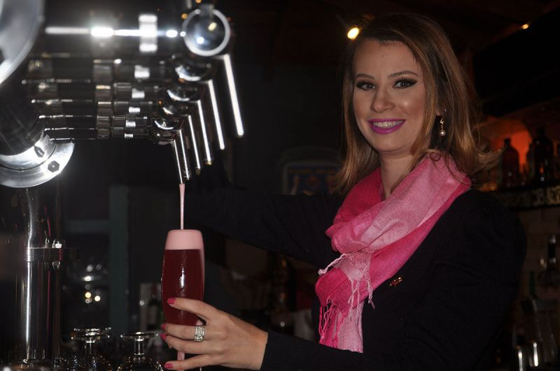 Amanda Reitenbach, diretora do Science of Beer institute