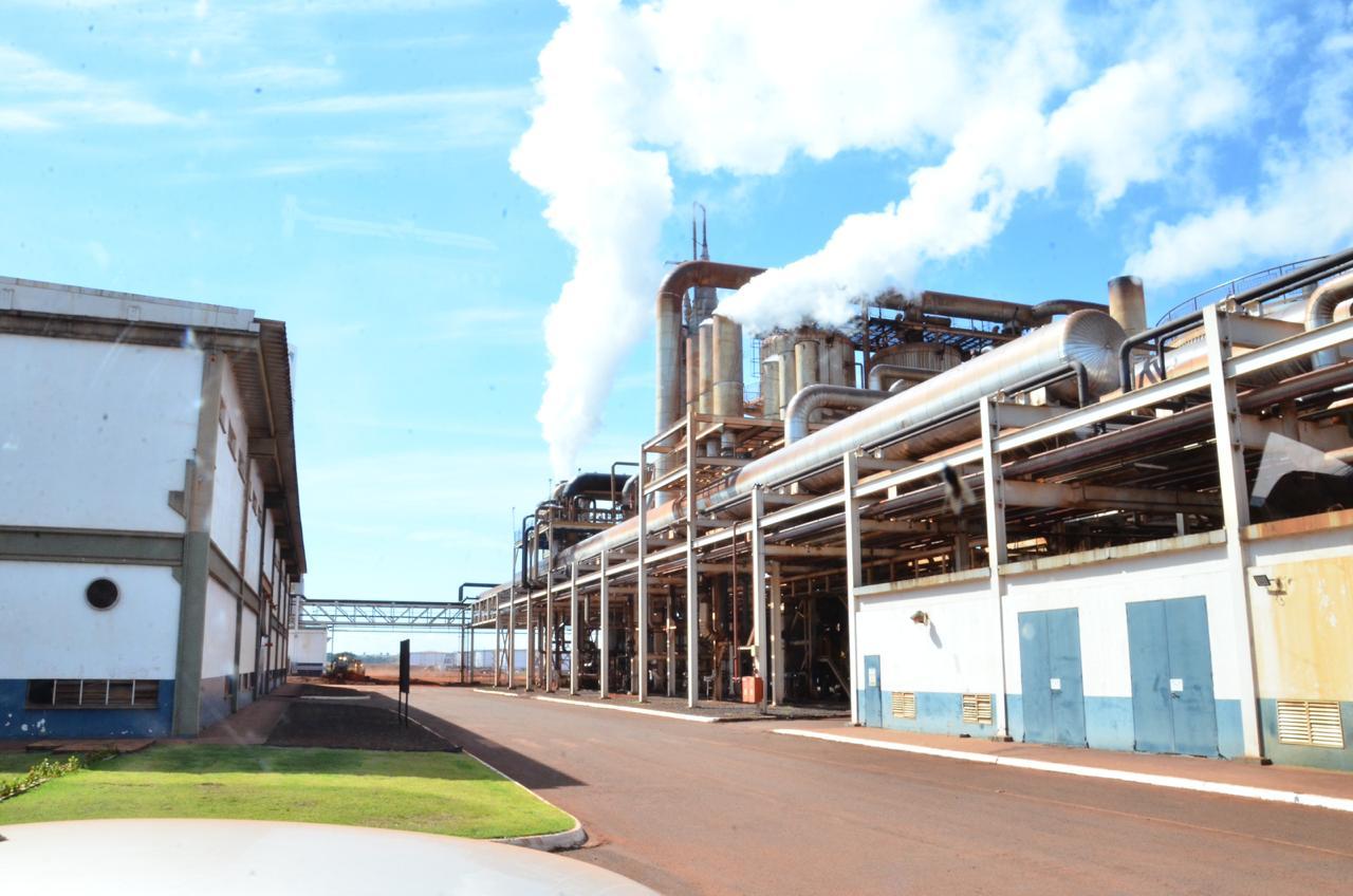 indústria de Goiás