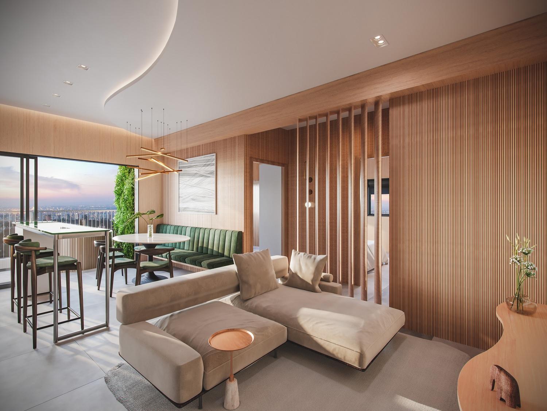 Mercado imobiliário de luxo