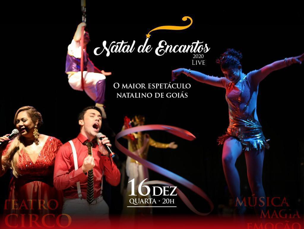 """OVG realiza live """"Natal de Encantos 2020"""""""