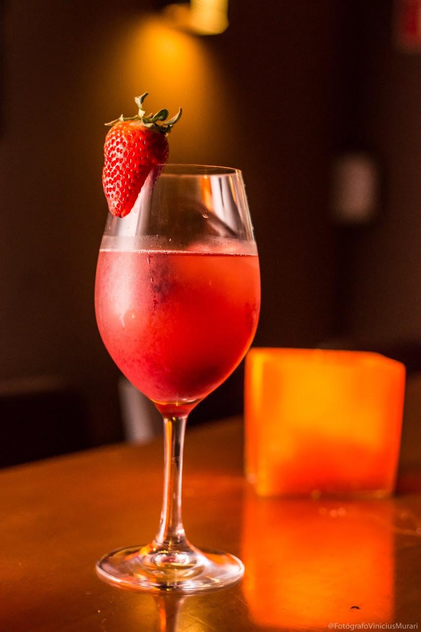 Drinks com vinhos